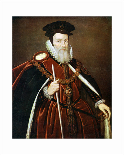 William Cecil, 1st Baron Burghley by Anonymous