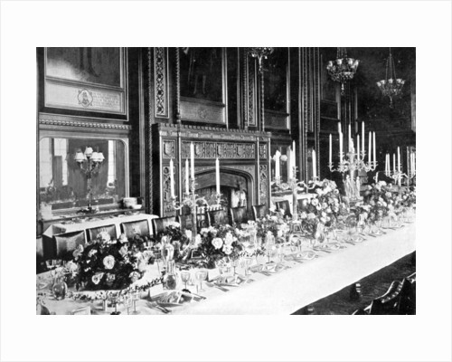 The Speaker's State Dining Room, House of Commons, Westminster, London by Anonymous