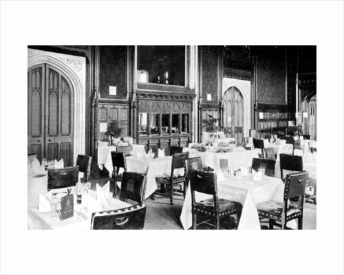 The House of Commons Dining Room, Palace of Westminster, London by Anonymous