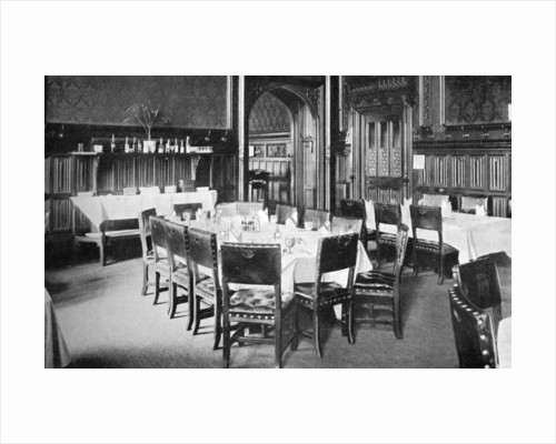 Ministers' Table, House of Commons Dining Room, Palace of Westminster, London by Anonymous