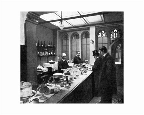 The Lobby Bar, House of Commons, Westminster, London by Anonymous