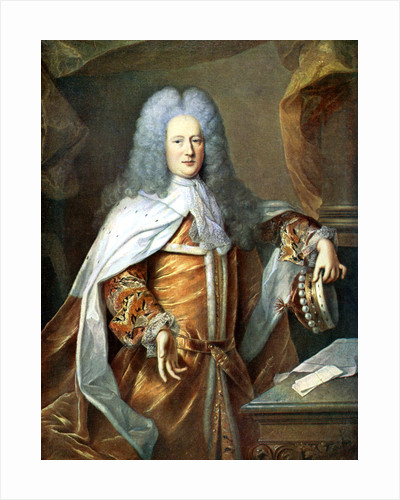 Henry St John, Viscount of Bolingbroke, English politician and philosopher by Hyacinthe Rigaud