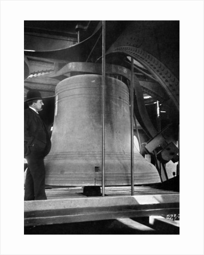 Bell in the tower of Big Ben, Palace of Westminster, London by Anonymous