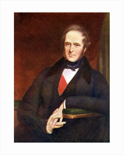 Henry John Temple, 3rd Viscount Palmerston, British statesman by Anonymous