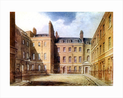 Downing Street, Westminster, 19th century, (c1902-1905) by Anonymous
