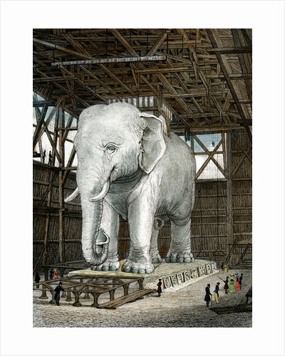 Model of the Elephant of the Place de la Bastille by Fenner Sears & Co