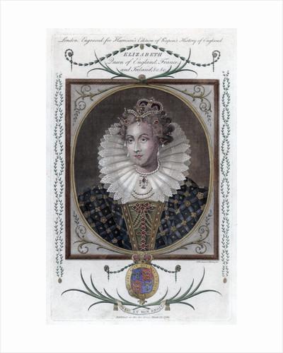 Queen Elizabeth of England by Woodman & Mutlow