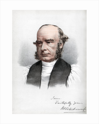 William Connor Magee, Irish clergyman of the Anglican church by Cassell