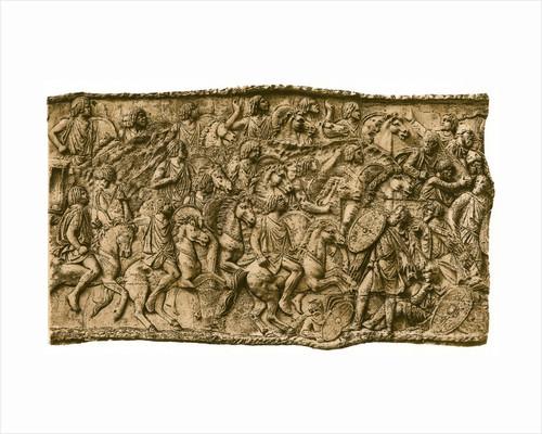Moorish calvalry under Lusius Quietus fighting against the Dacians by Anonymous