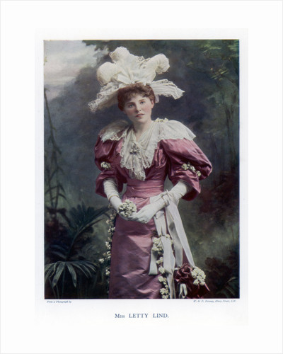 Letty Lind, actress and dancer by W&D Downey