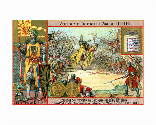 Episodes in the history of Belgium up until the 13th century: John I of Brabant by Anonymous