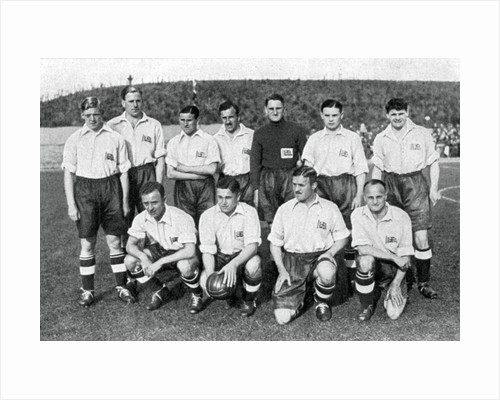 British Olympic football team, Berlin Olympics by Anonymous