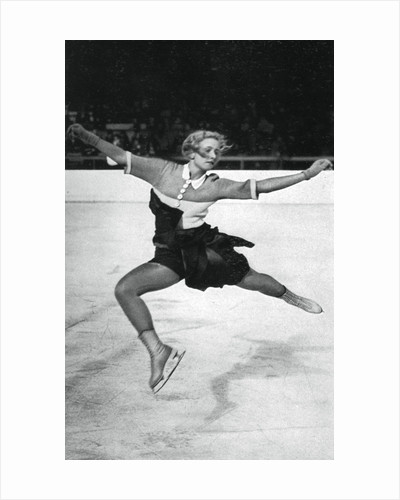 Vera Hrubá, Czech figure skater, Winter Olympic Games, Garmisch-Partenkirchen, Germany by Anonymous