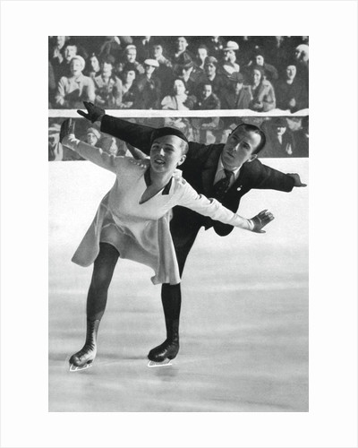 Pairs figure skating, Winter Olympic Games, Garmisch-Partenkirchen, Germany by Anonymous