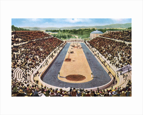 Olympic stadium, Athens by Anonymous