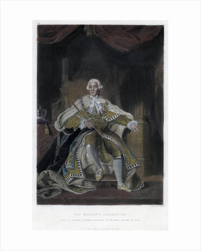 George III, King of Great Britain and Ireland by Samuel William Reynolds