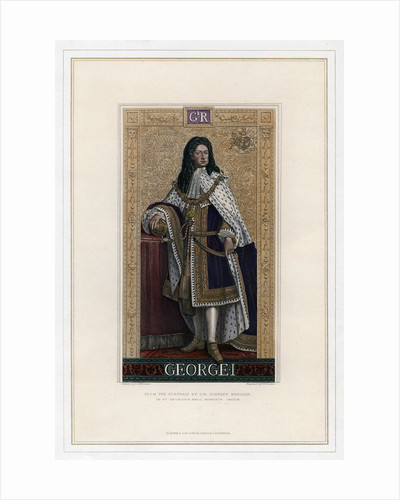 George I, King of Great Britain by William Home Lizars