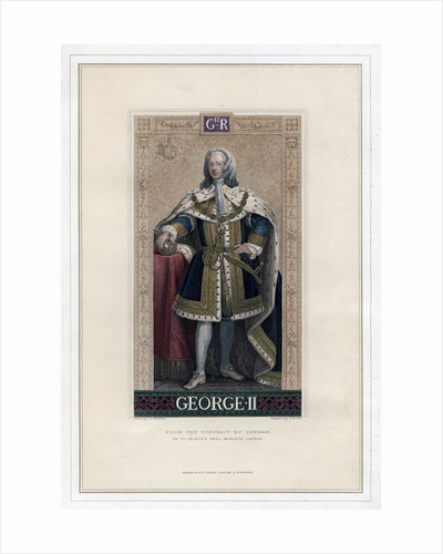 George II, King of Great Britain and Ireland by T Brown