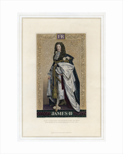 James II, King of England, Scotland and Ireland by T Brown