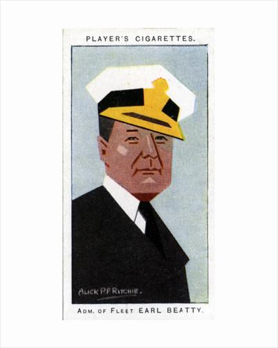 David Beatty, 1st Earl Beatty, admiral by Alick P F Ritchie