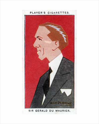 Sir Gerald du Maurier, British actor-manager by Alick P F Ritchie