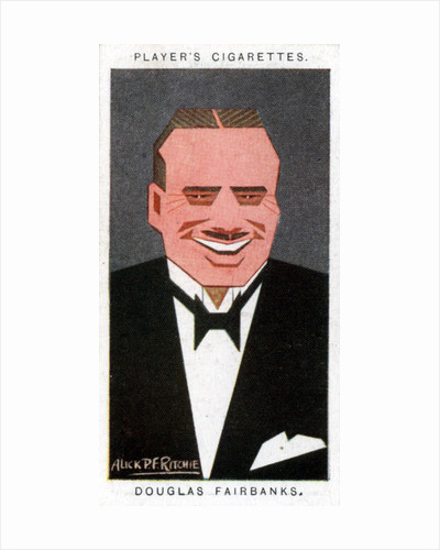 Douglas Fairbanks, American film actor by Alick P F Ritchie