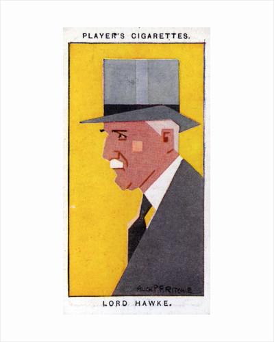 Martin Bladen Hawke, 7th Baron Hawke, British cricketer by Alick P F Ritchie