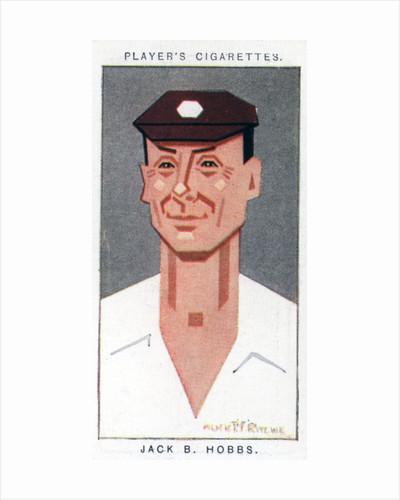 Sir Jack Hobbs, British cricketer by Alick P F Ritchie