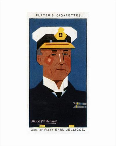 John Rushworth Jellicoe, 1st Earl Jellicoe, British admiral by Alick P F Ritchie