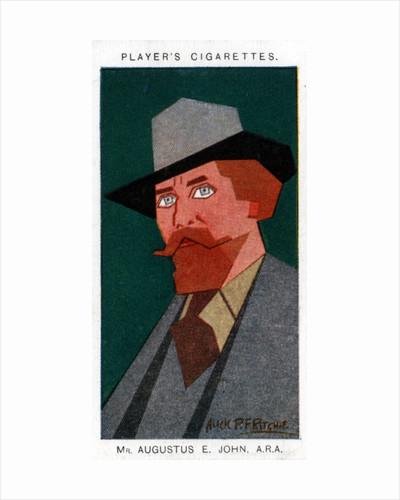 Augustus John, British painter by Alick P F Ritchie
