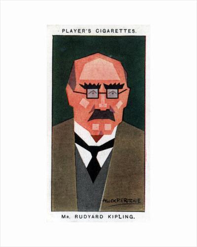 Rudyard Kipling, British writer and poet by Alick P F Ritchie