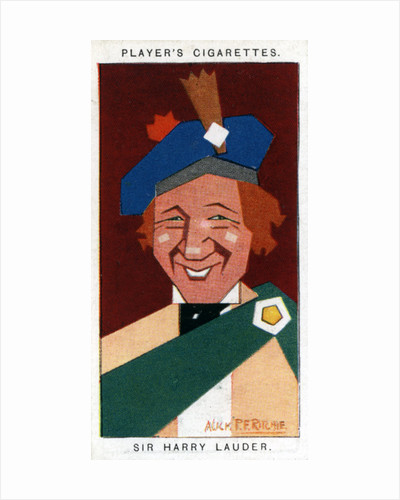 Sir Harry Lauder, Scottish comedian by Alick P F Ritchie