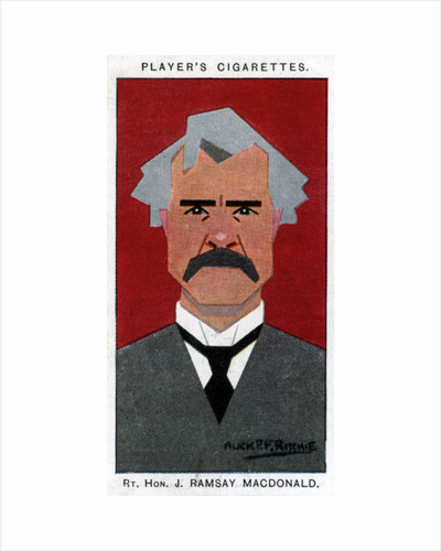Ramsay MacDonald, British Prime Minister by Alick P F Ritchie