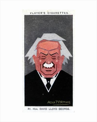David Lloyd George, 1st Earl Lloyd-George, British Prime Minister by Alick P F Ritchie