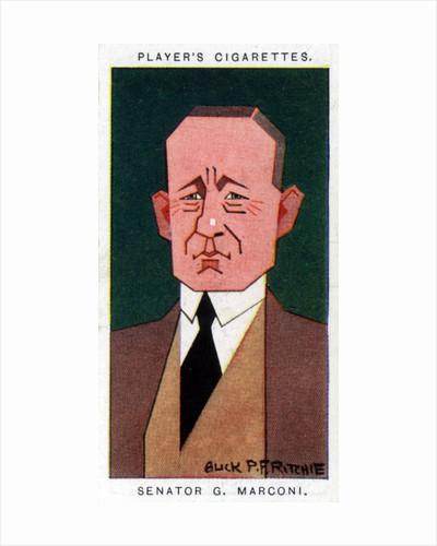 Guglielmo Marconi, Italian inventor by Alick P F Ritchie