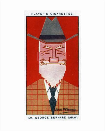 George Bernard Shaw, Irish playwright by Alick P F Ritchie