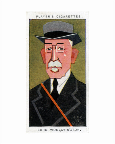James Buchanan, 1st Baron Woolavington, British philantropist and racehorse owner by Alick P F Ritchie