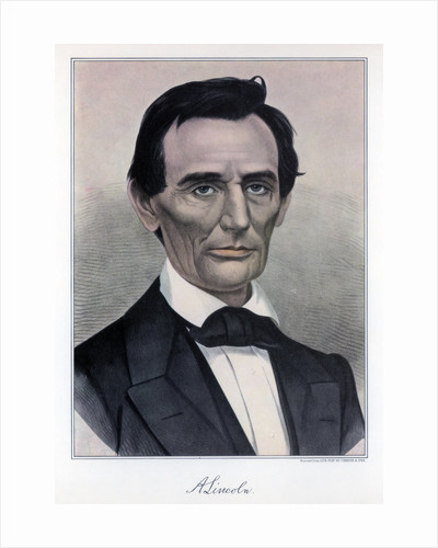 Abraham Lincoln, sixteenth President of the United States by Currier and Ives