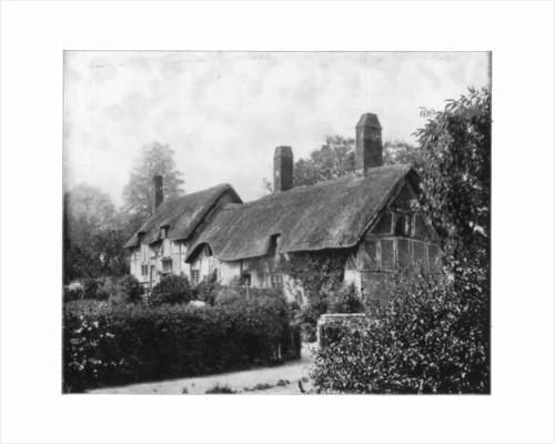Anne Hathaway's Cottage, Stratford-On-Avon, England by John L Stoddard