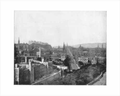 Edinburgh and Scott's Monument by John L Stoddard