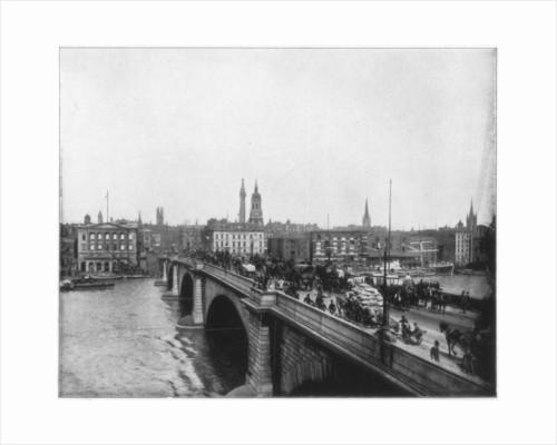 London Bridge, London by John L Stoddard
