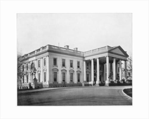 The White House, Washington DC by John L Stoddard