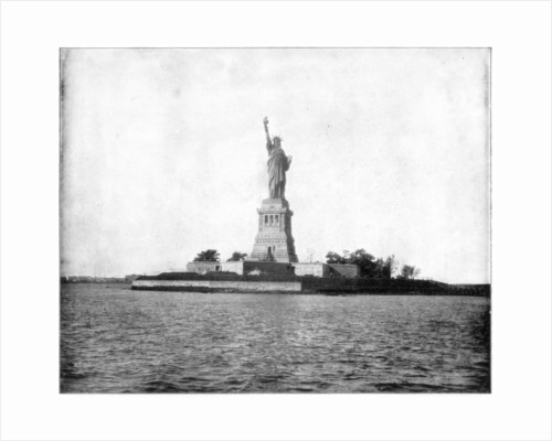Statue of Liberty, New York Harbour by John L Stoddard