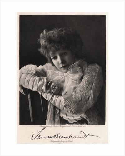 Sarah Bernhardt, French actress by Art Photogravure Co