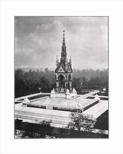 The Albert Memorial, London by Pawson & Brailsford