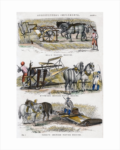 Agricultural implements by Anonymous