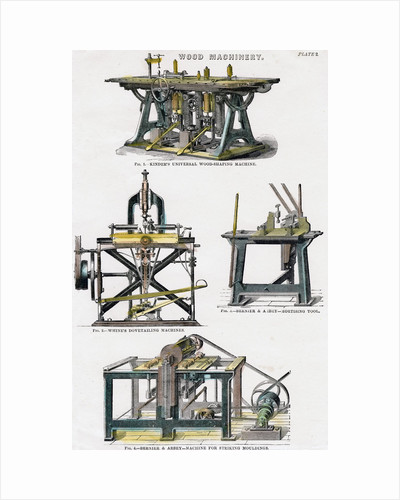 Wood machinery by Anonymous