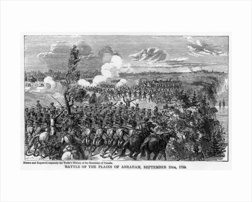 Battle of the Plains of Abraham, September 13th by Anonymous