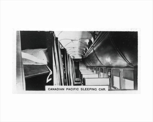 Canadian Pacific sleeping car, Canada by Anonymous