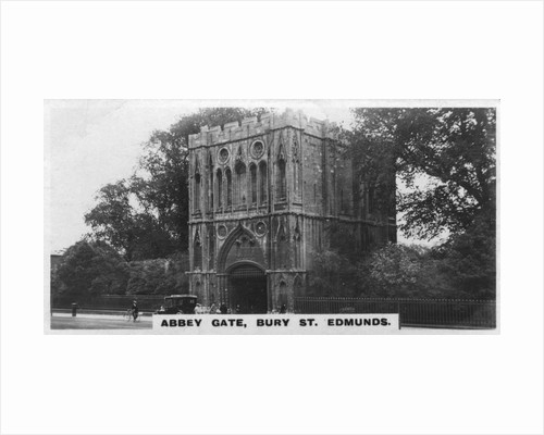 Abbey Gate, Bury St Edmunds, Suffolk by Anonymous